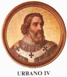 Papa Urbano IV ~ Paróquia de Nossa Senhora da Piedade
