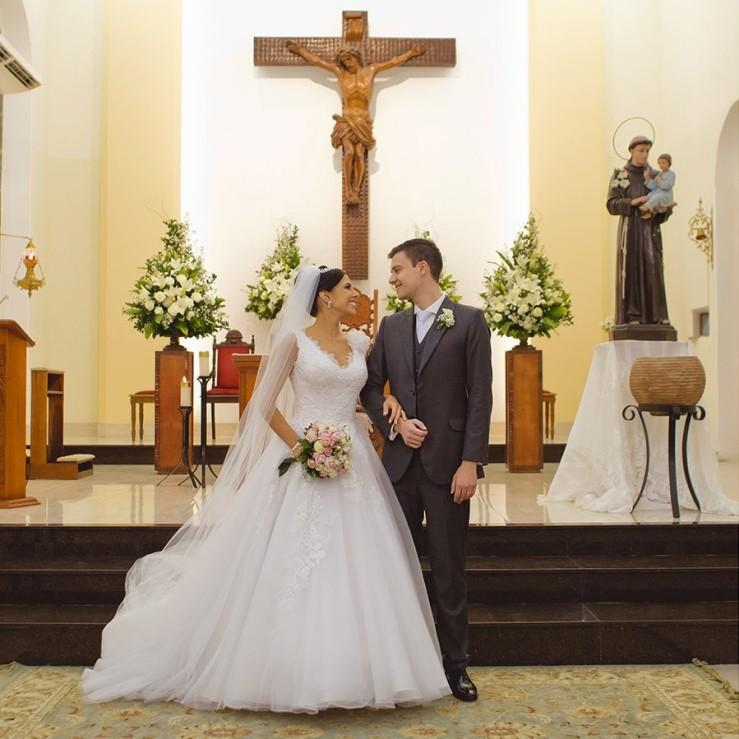 Ge e Lipe casamento
